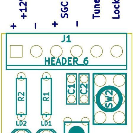 Circuito Stampato PCB per Samrtlock per accordatore SGC 237–239